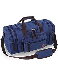 27c1735a6f1e0 VENTCY Canvas Reisetasche Herren Damen Weekender Sporttasche Männer Frauen  Gym Duffle Bag Vintage Handgepäck Tasche 40L für…