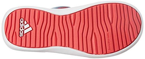 adidas Kinder Wassersandale RapidaSwim J Badesandale Wasserschuhe , Größe:38 - UK 6 - 24 cm;Farbe:Rosatöne -