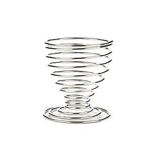 Changyin UK - 1 x coquetier en forme de spirale en métal pour cuisine/petit déjeuner/Hard Boiled ressort Coquetier