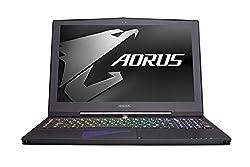 AORUS X5 v7-CF3 15.6-Inch WQHD+ IPS - (Black) (Intel i7-7820HK, 16 GB RAM, 1 TB HDD+256GB SSD, NVIDIA GeForce GTX 1070, Windows 10)