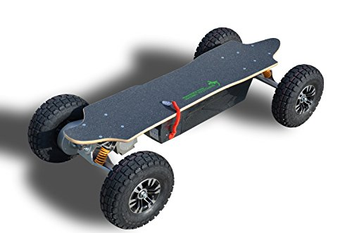 E-Skateboard GECCO 1300 - leistungsstarkes E-Skateboard mit ultimativer Power