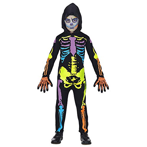 Widmann 70277 Kinderkostüm Skelett, Jungen, (Halloween Kostüme 10 Jährigen Jungen)