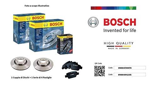 Dischi + Pastiglie Freno Anteriori Bosch Berlingo B9