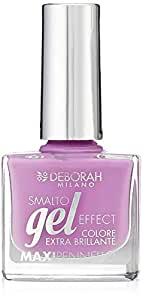 Deborah Milano Gel Effect Nail Polish, 74 Chic Violet, 8.5ml
