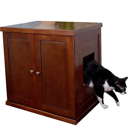 The Refined Feline RLB-Ma Caja itter Gato Madera L