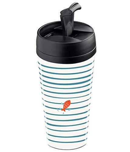 Wantit - taza de viaje isotérmica, personalizable, diseño