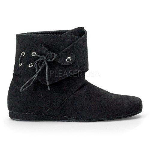 Higher-Heels Funtasma Stiefel für Herren Renaissance-50 schwarz Gr.41-42,5