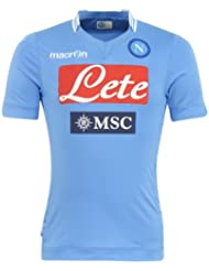 2013-14 Napoli Authentic Home Match Shirt