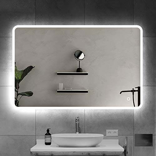 S'bagno Espejo baño 600 x 800 mm - Espejo baño Iluminado
