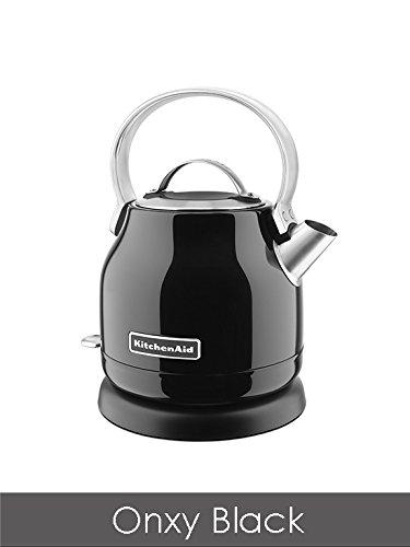 KitchenAid 5KEK1222BOB 1.25-Litre Dome Kettle - Onyx Black Best Price and Cheapest