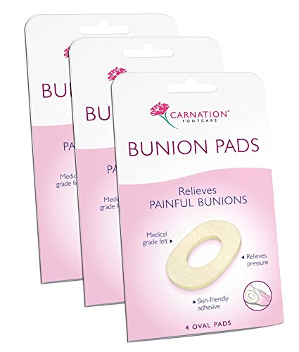 Carnation Bunion Rings Nhs Thick-PACK-3