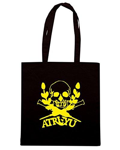 T-Shirtshock - Borsa Shopping FUN0652 athesists love christmas too tshirt yel mens cu 4 1 (2) Nero