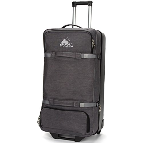 Cox Swain Trolley Darrel Reisetasche - Rollentasche 90 Liter, Colour: Dark Grey