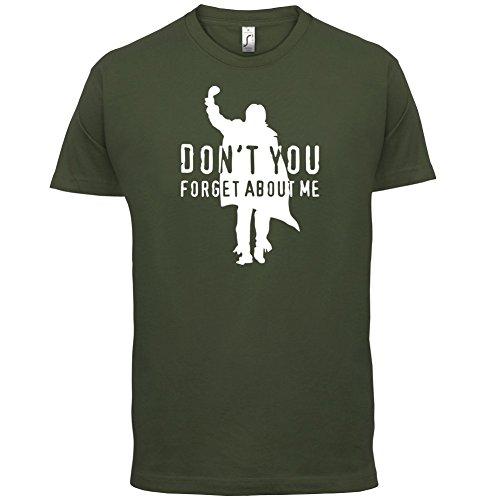 Don't You Forget About Me - Herren T-Shirt - 13 Farben Olivgrün