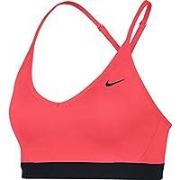 Nike Indy Bra Sujetador Deportivo, Mujer, Rojo (Ember Glow/Black), S