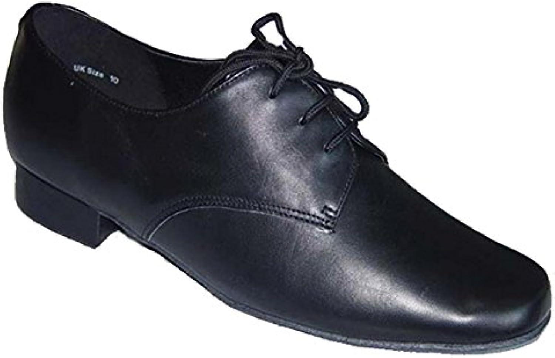 De los hombres modernos zapatos de baile/ zapatos de fondo suave/Latin dance zapatos negro  -