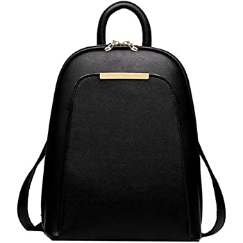 CASPAR Womens Simple Elegant City Backpack / Rucksack with Many ...