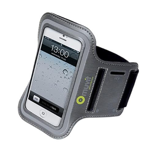 Muvit 17444 Armband für Apple iPhone 5/iPod touch 5G schwarz Ipod 5g Armband