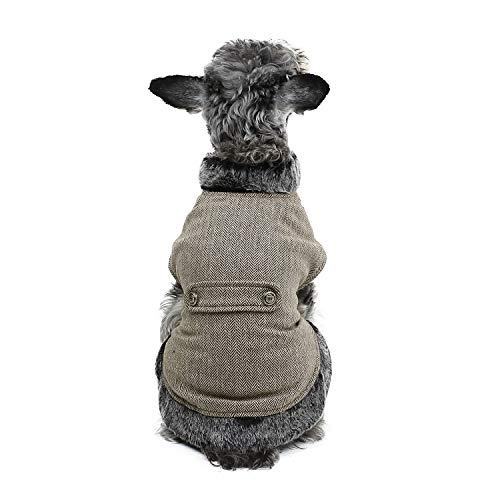 PAWZ Road Cuello Piel sintética Ropa Perro pequeños