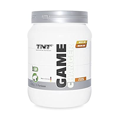 Maltodextrin | Powder supplement for perpetual training during sports | Carbohydrates | Electrolyte drink with dextrose, magnesium, calcium & potassium | TNT Game Changer Intra Workout (Orange) | 825g by MBS SPORTS GmbH