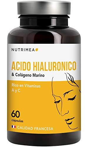 Colágeno Ácido Hialurónico Piel Huesos Articulaciones y Reforzar Defensas Antiedad Reduce Arrugas Líneas de Expresión Hidratación