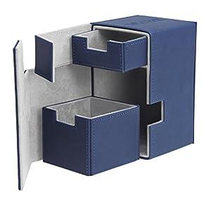 Ultimate Guard FlipŽnŽTray Deck Case 100+ Caja de Cartas Tamaño Estándar XenoSkin Azul