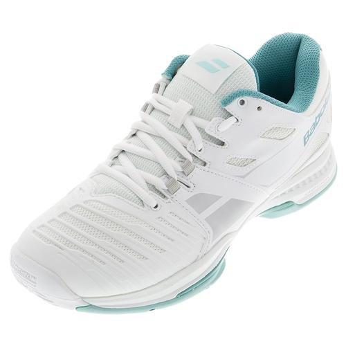 Babolat-Pantaloni donna in tessuto, tutte le SFX 2 M, Scarpe da Tennis, uomo Bianco/blu