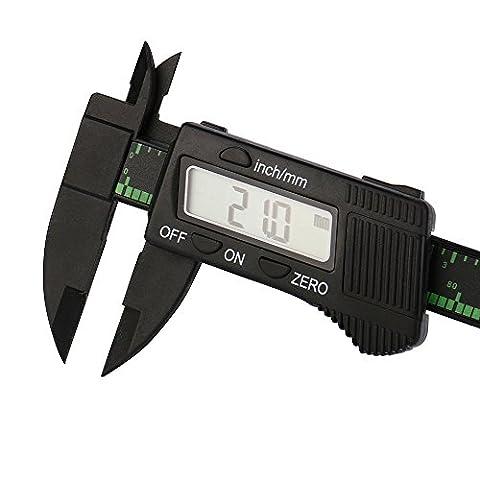 Pied à coulisse digital,NPRADLA Micromètre de calibre d'étanchéité électronique numérique Vernier de 150 mm de largeur 150 mm