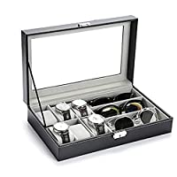 Jewelry Storage Box Watch Box Organizor with Drawer Leather Case for Watch Jewelry Display