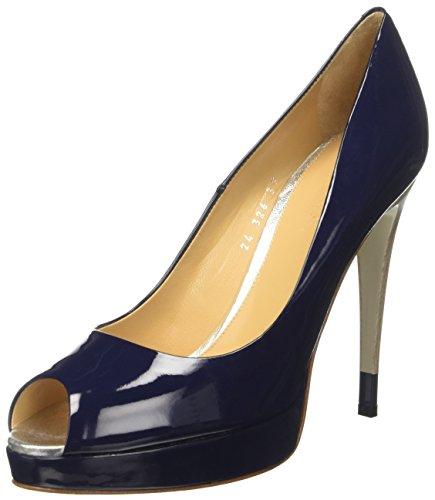 Dibrera Sasha, chaussures à bouts ouverts femme Bleu
