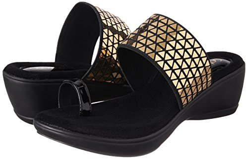 Catwalk Women's Gold Fashion Sandals - 4 UK/India (36 EU)(2195XX)