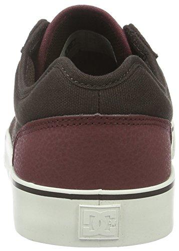 DC Shoes Tonik M, Low-Top Sneaker Uomo Marrone (Braun (Dk Chocolate/Oxblood - Dkx))