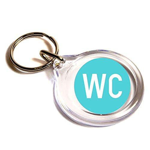 Water closet Emoji anello chiave / Water Closet Emoji Key Ring