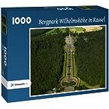 Bergpark Wilhelmshöhe in Kassel - Puzzle 1000 Teile mit Bild von oben