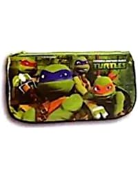tortues ninja trousse scolaire plate verte turtles ninja - Cartable Tortue Ninja