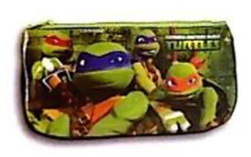 Tortugas Ninja–Estuche escolar Plate verde Turtles Ninja