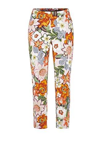 Stehmann Limnos 642 Sommercapri Blumenmuster, Grösse:34, Farbe:Anemone