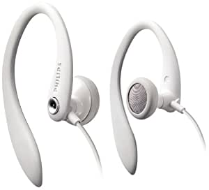 Philips SHS3201/10 Secure Ear Hook Headphones