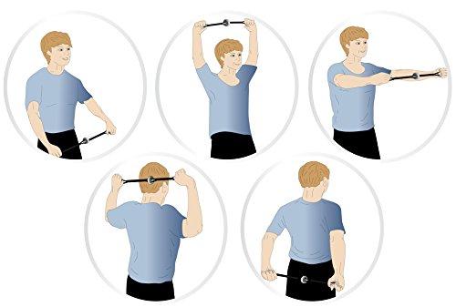 Handytrim® Rotationsexpander – Heimtrainer und Mini Fitnessgerät für zuhause und unterwegs inklusive Trainings-DVD - 5