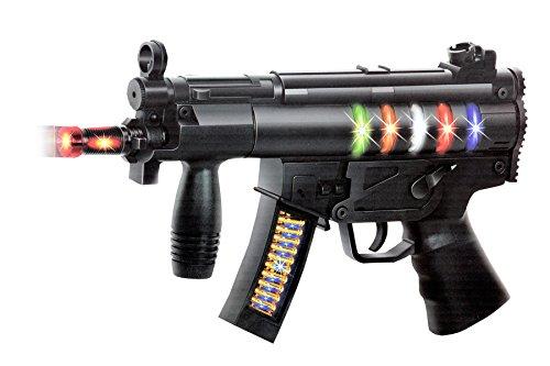 Toyshine Musical Black Toy Gun With Music
