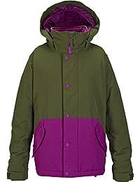 Burton chica cazadora de snowboard para mujer Echo, Keef/Grape Seed, M, 15033100354