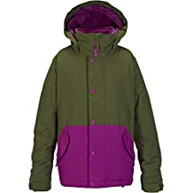 Burton chica cazadora de snowboard para mujer Echo, Keef/Grape Seed, L, 15033100354