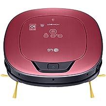 LG VR9624PR - Hombot Turbo Serie 11. Robot aspirador, limpieza a distancia vía Smartphone, color rojo metalizado