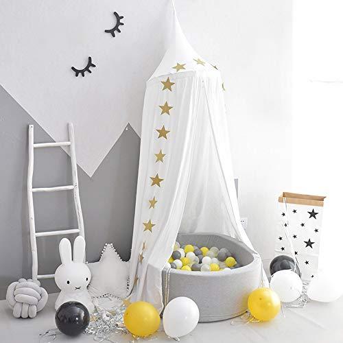 Ciel de Lit Baldaquin Rideaux de Lit Moustiquaire Bebe Fille Garcon Cadeaux Enfant Tente de Lit Moustiquaires Decoration Chambre DNTE003