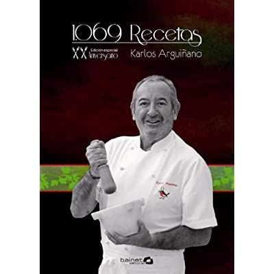 1069 Recetas de Cocina XX Aniversario: 20 Aniversario