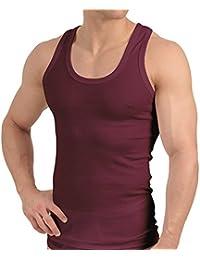 Tank Top - Herren Unterhemd Feinripp (glatt) - 100% gekämmte Baumwolle - versch. Farben, Größen S bis 3XL - Highest Standard - Einlaufvorbehandelt - original CELODORO Exclusive