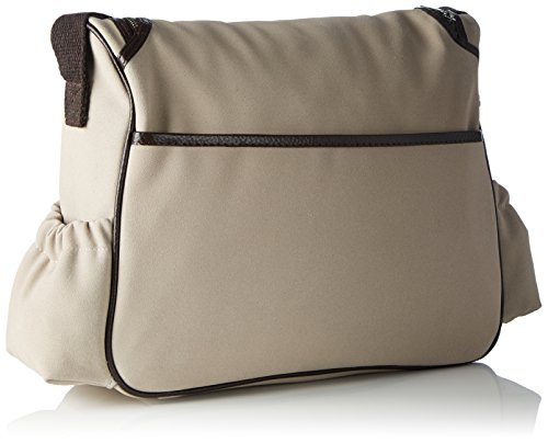 Bags4Less - Wickeltasche, Borsa a tracolla Donna Velours-Sand