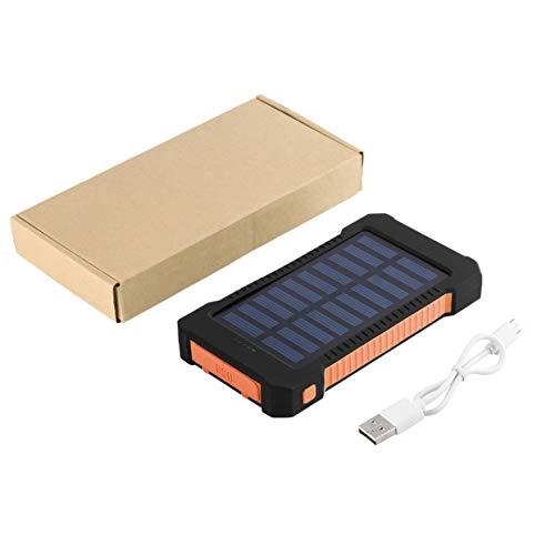 Tree-on-Life 300000mAh Dual USB Port wasserdichte Solar Power Bank Externes Ladegerät