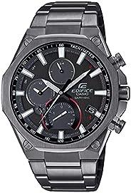 Casio EQB 1100DC 1A Edifice Bluetooth Connect Analog Watch, Black