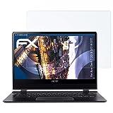 atFolix Schutzfolie kompatibel mit Acer Swift 7 2018 SF714-51T Panzerfolie, ultraklare und stoßdämpfende FX Folie (2X)